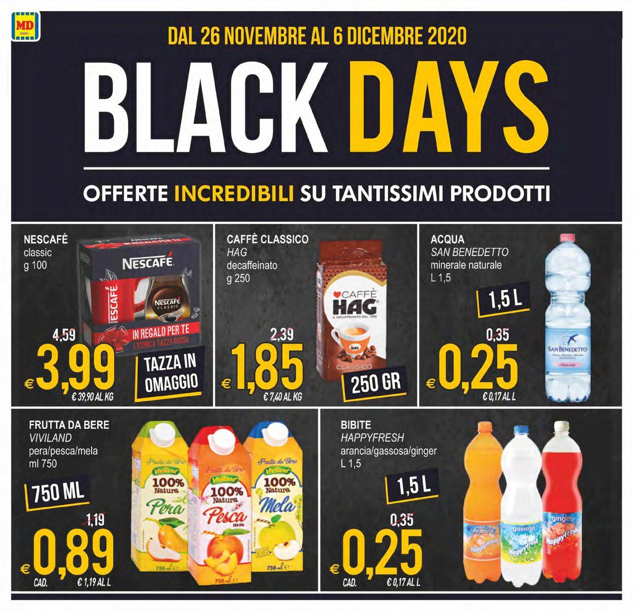 Volantino MD Discount - Black Friday 2020 - Offerte 26/11-06/12/2020 (Pagina 4)