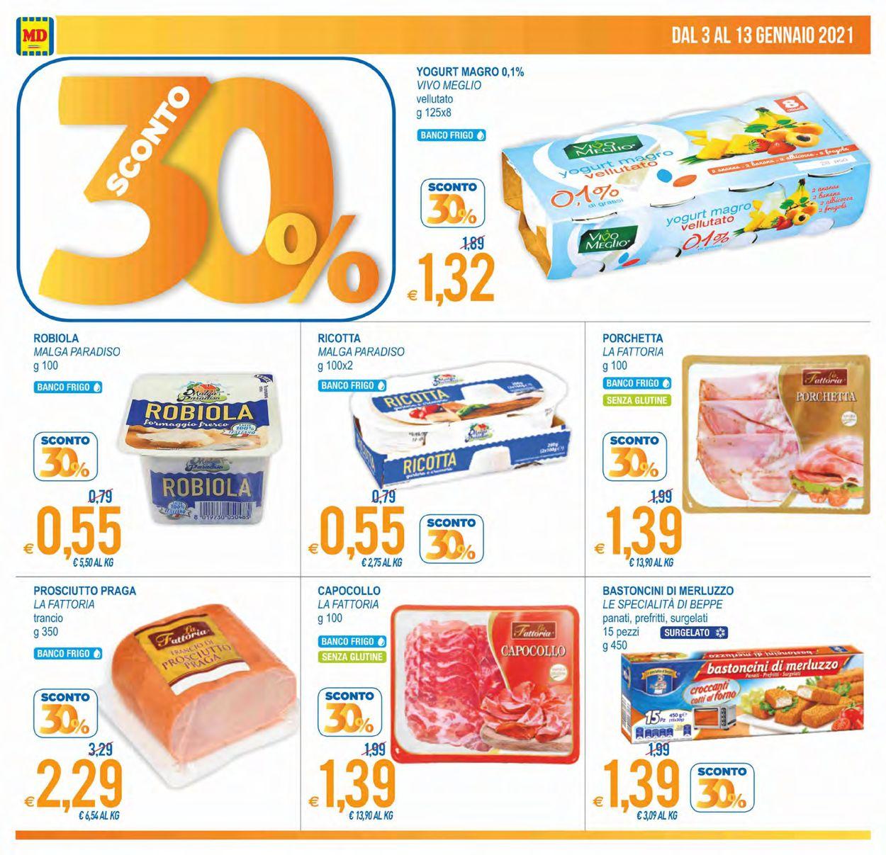 Volantino MD Discount - Offerte 03/01-13/01/2021 (Pagina 2)
