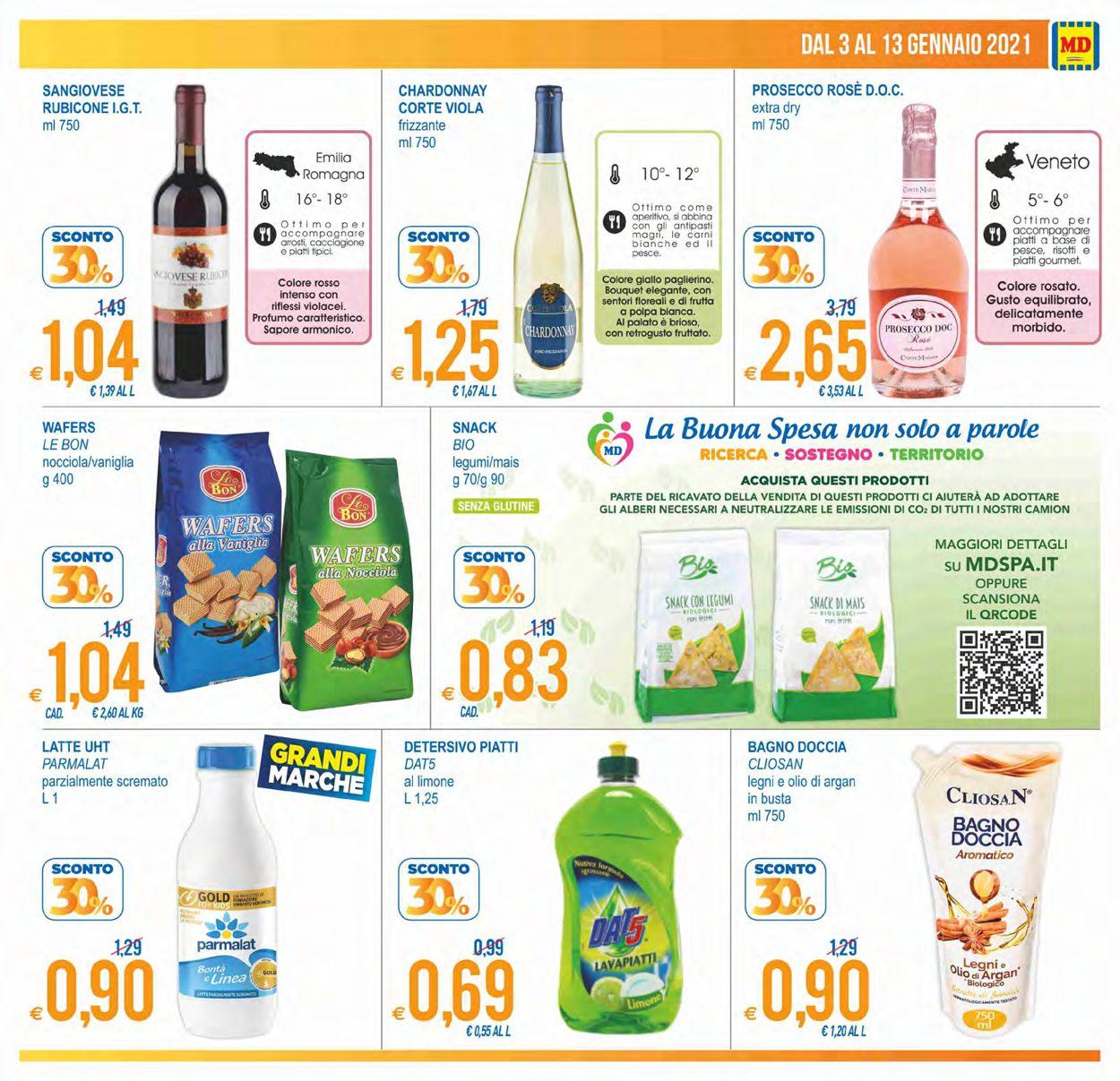 Volantino MD Discount - Offerte 03/01-13/01/2021 (Pagina 3)