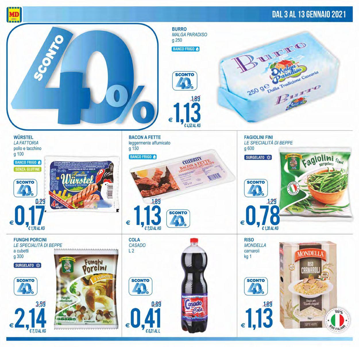 Volantino MD Discount - Offerte 03/01-13/01/2021 (Pagina 4)