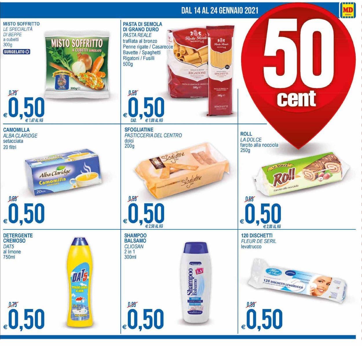 Volantino MD Discount - Offerte 14/01-24/01/2021 (Pagina 3)