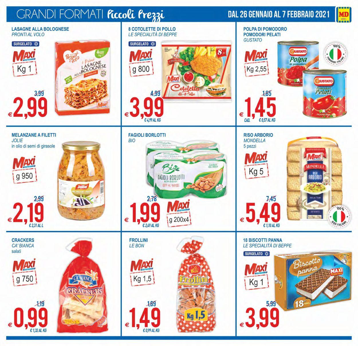 Volantino MD Discount - Offerte 26/01-07/02/2021 (Pagina 3)