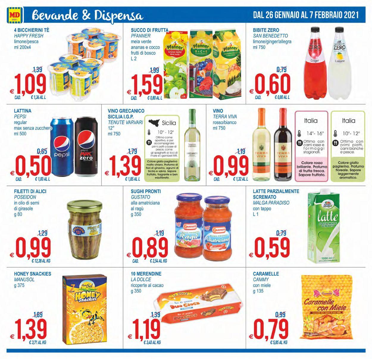Volantino MD Discount - Offerte 26/01-07/02/2021 (Pagina 16)