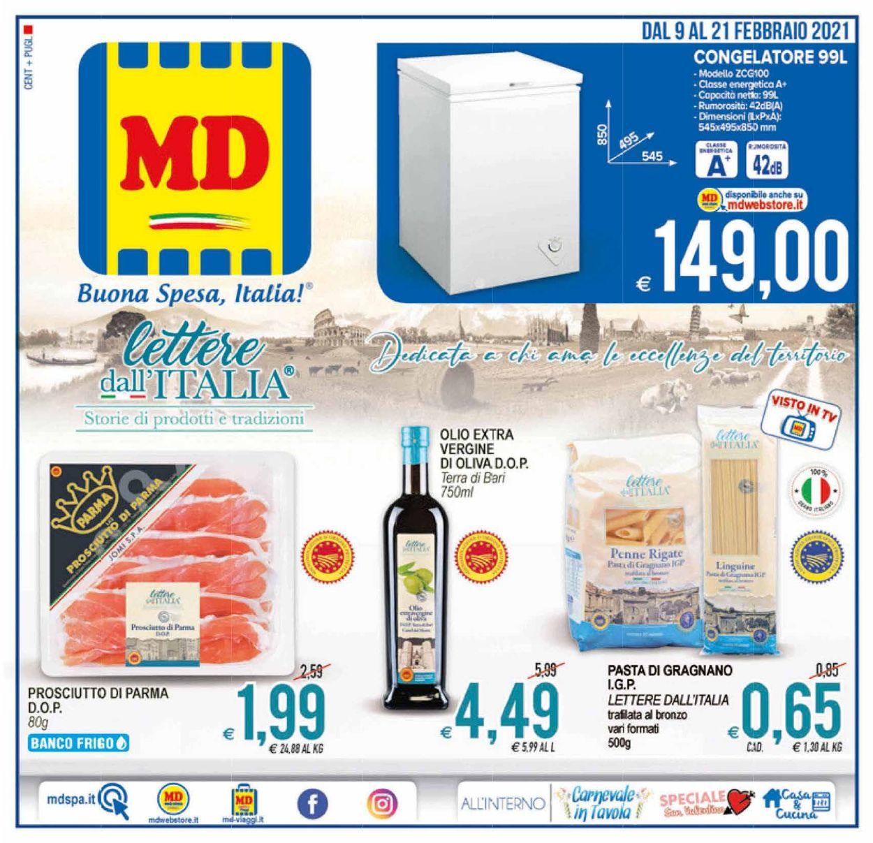 Volantino MD Discount - Offerte 09/02-21/02/2021