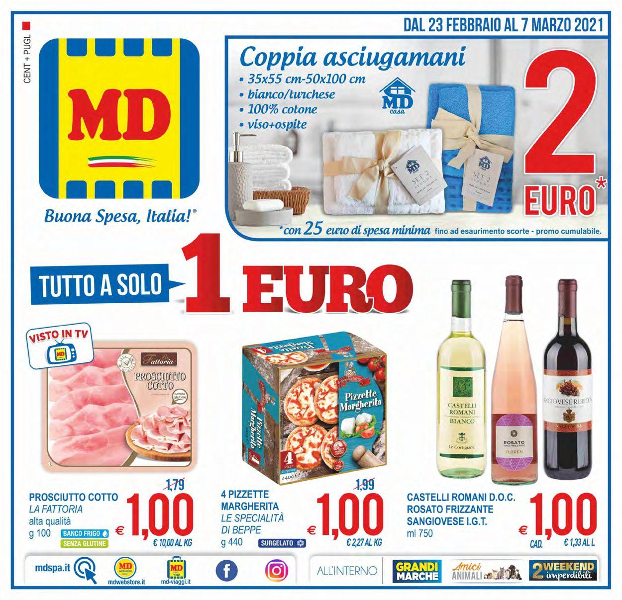 Volantino MD Discount - Offerte 23/02-07/03/2021