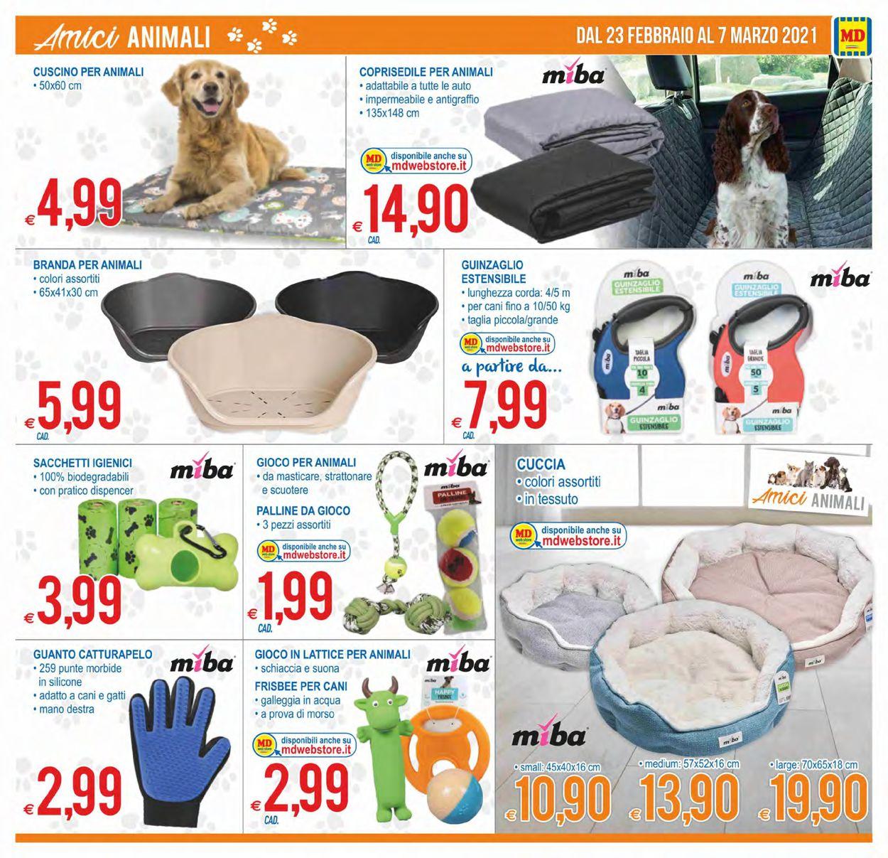 Volantino MD Discount - Offerte 23/02-07/03/2021 (Pagina 21)