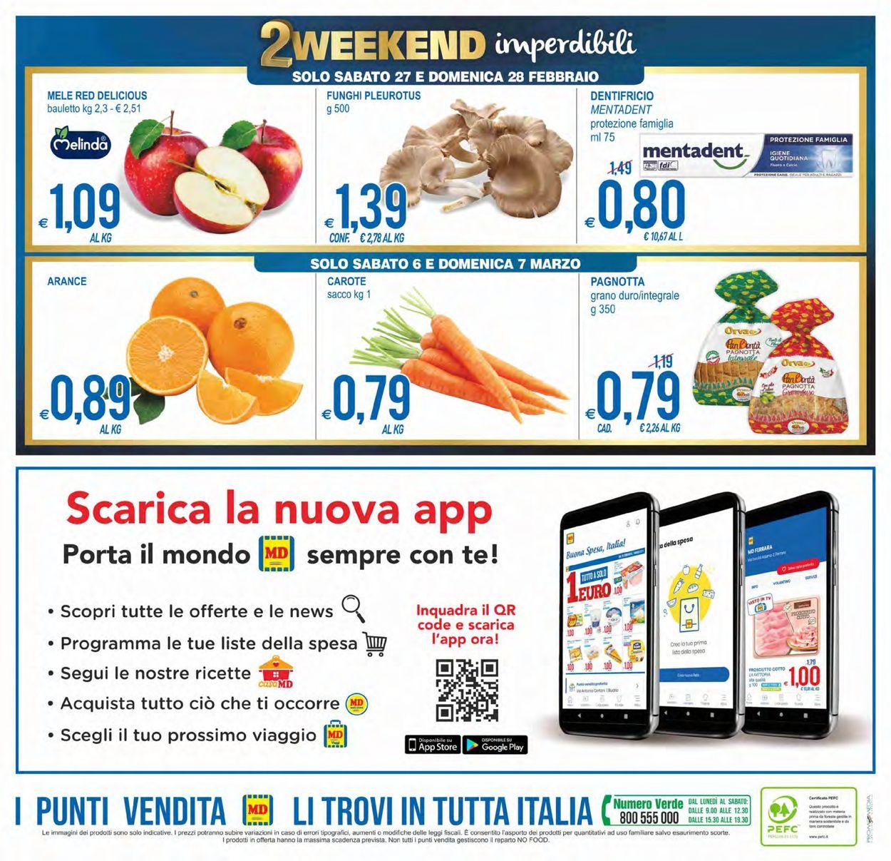 Volantino MD Discount - Offerte 23/02-07/03/2021 (Pagina 24)