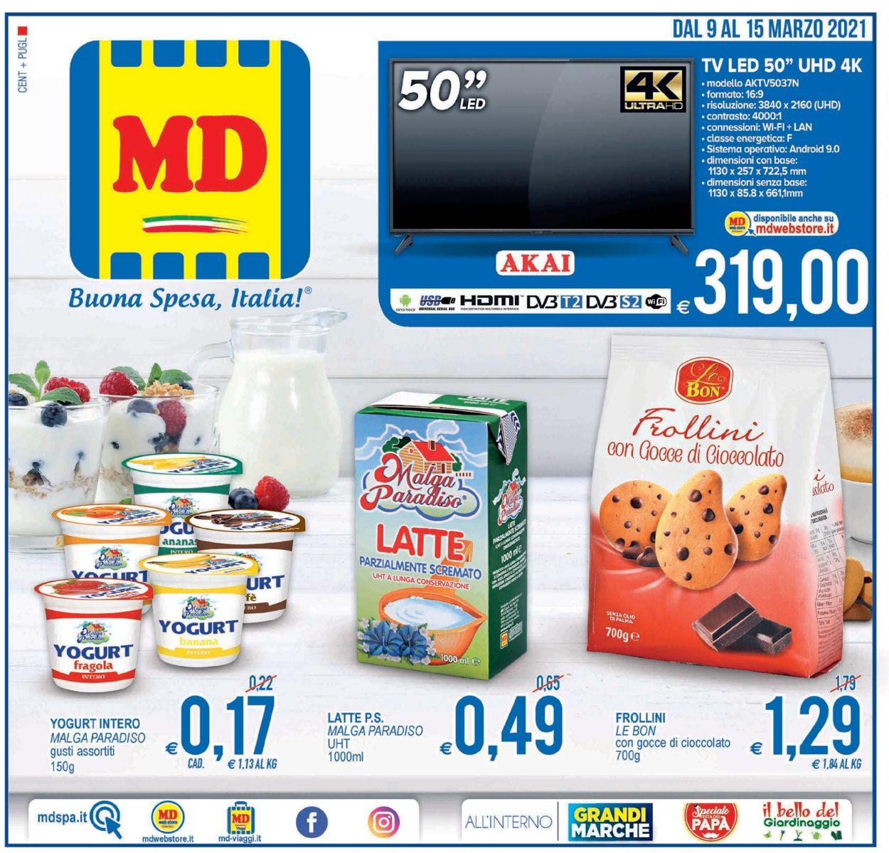 Volantino MD Discount - Offerte 09/03-15/03/2021