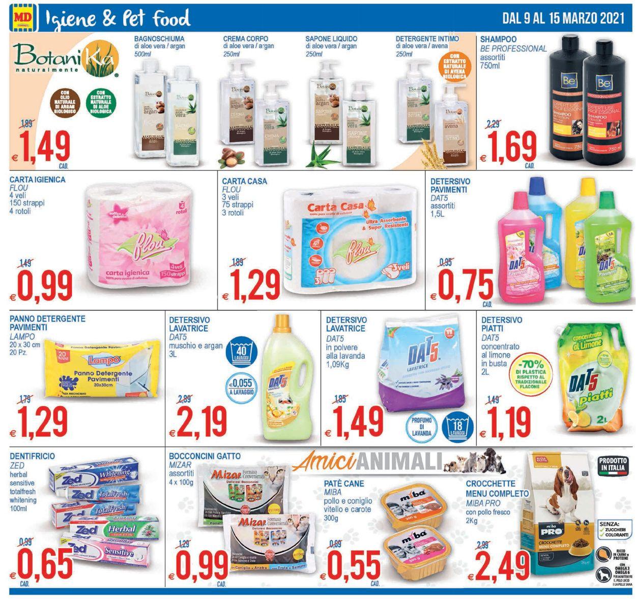 Volantino MD Discount - Offerte 09/03-15/03/2021 (Pagina 12)