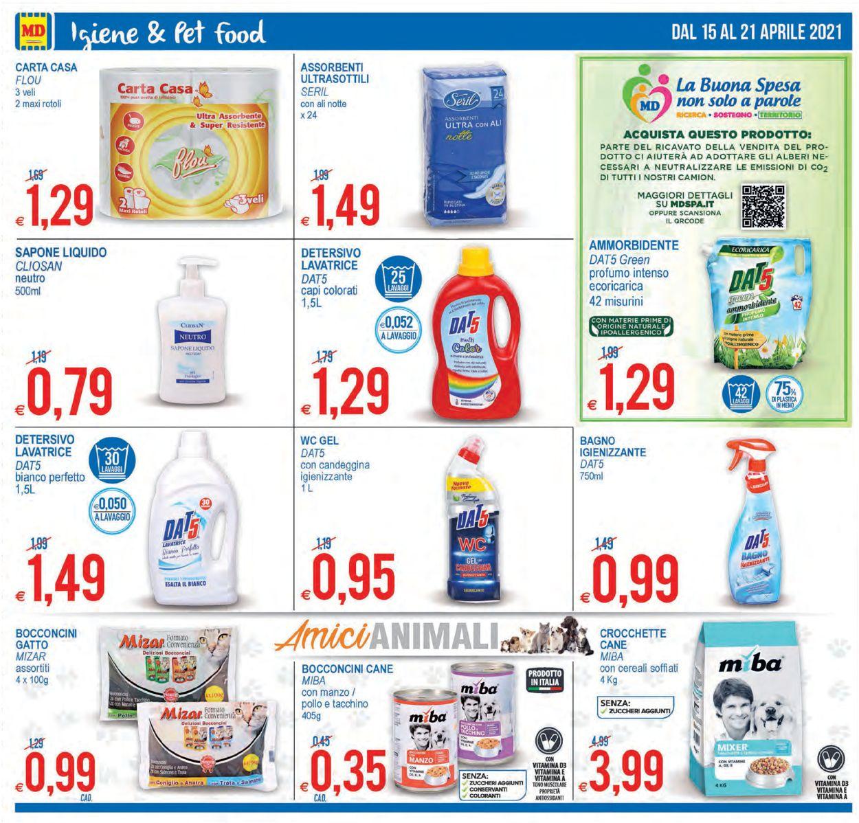 Volantino MD Discount - Offerte 15/04-21/04/2021 (Pagina 12)