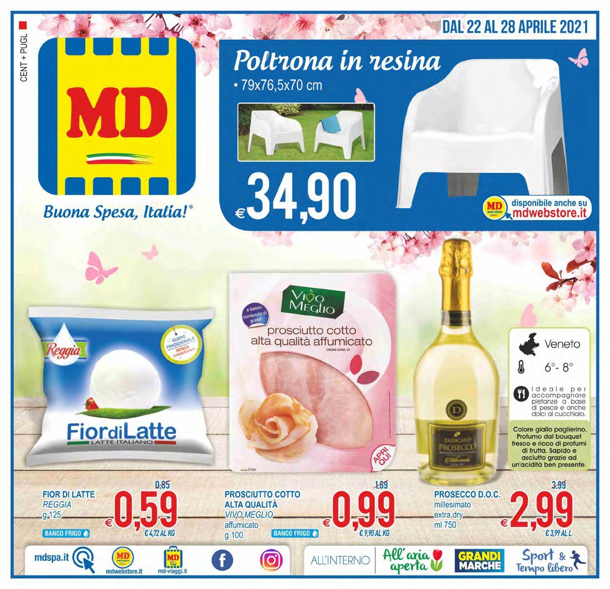 Volantino MD Discount - Offerte 22/04-28/04/2021