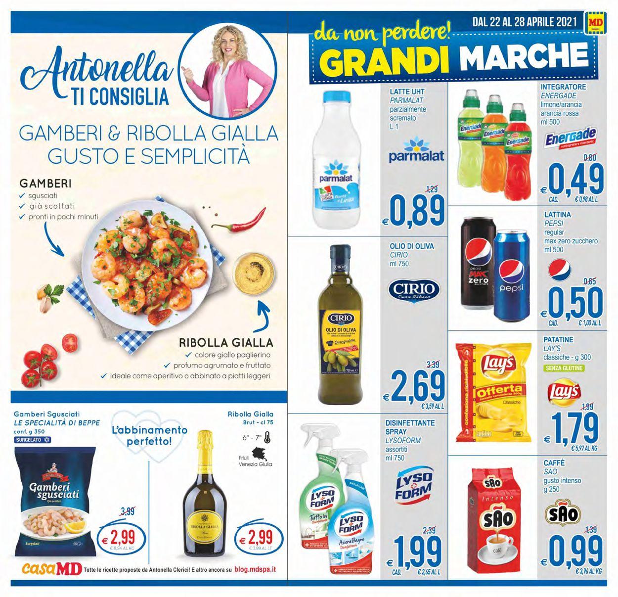 Volantino MD Discount - Offerte 22/04-28/04/2021 (Pagina 11)