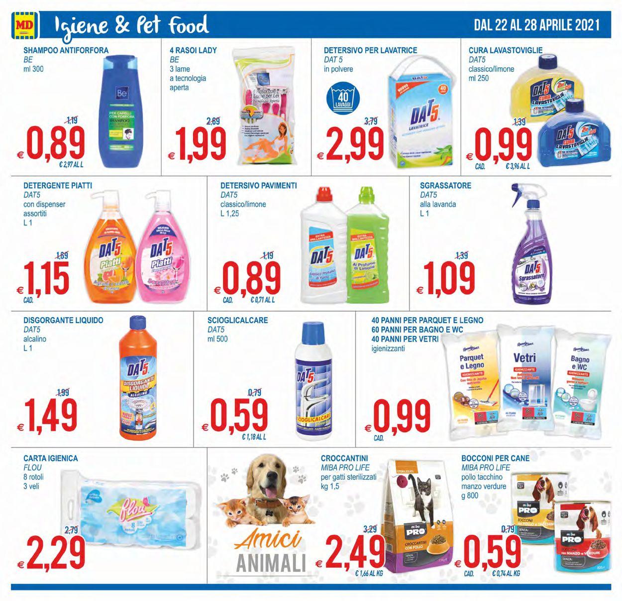 Volantino MD Discount - Offerte 22/04-28/04/2021 (Pagina 12)