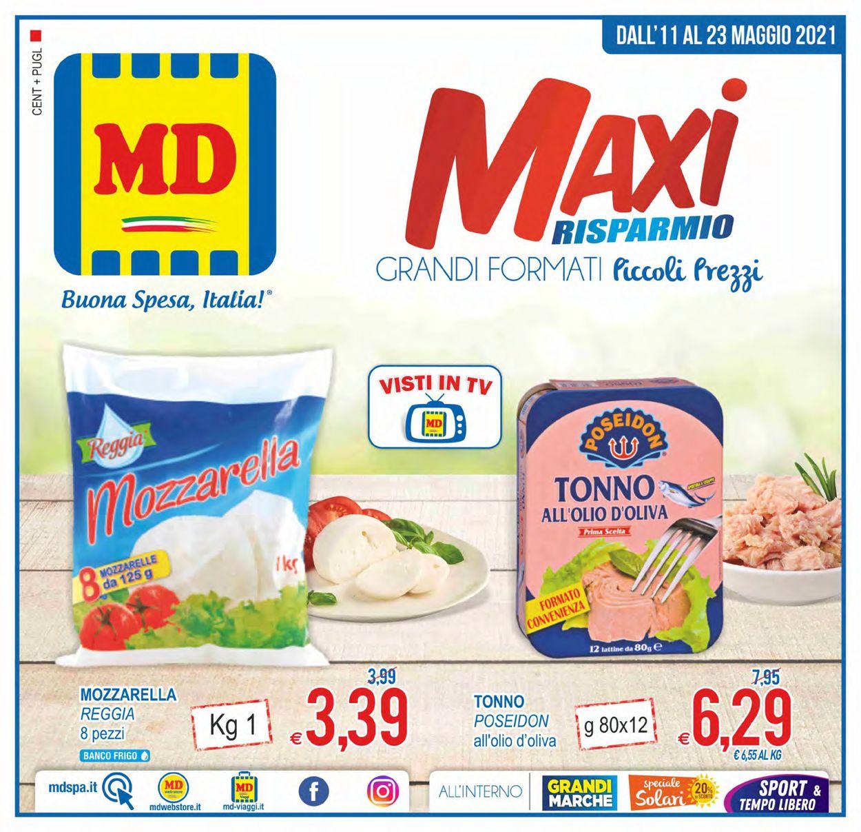 Volantino MD Discount - Offerte 11/05-23/05/2021
