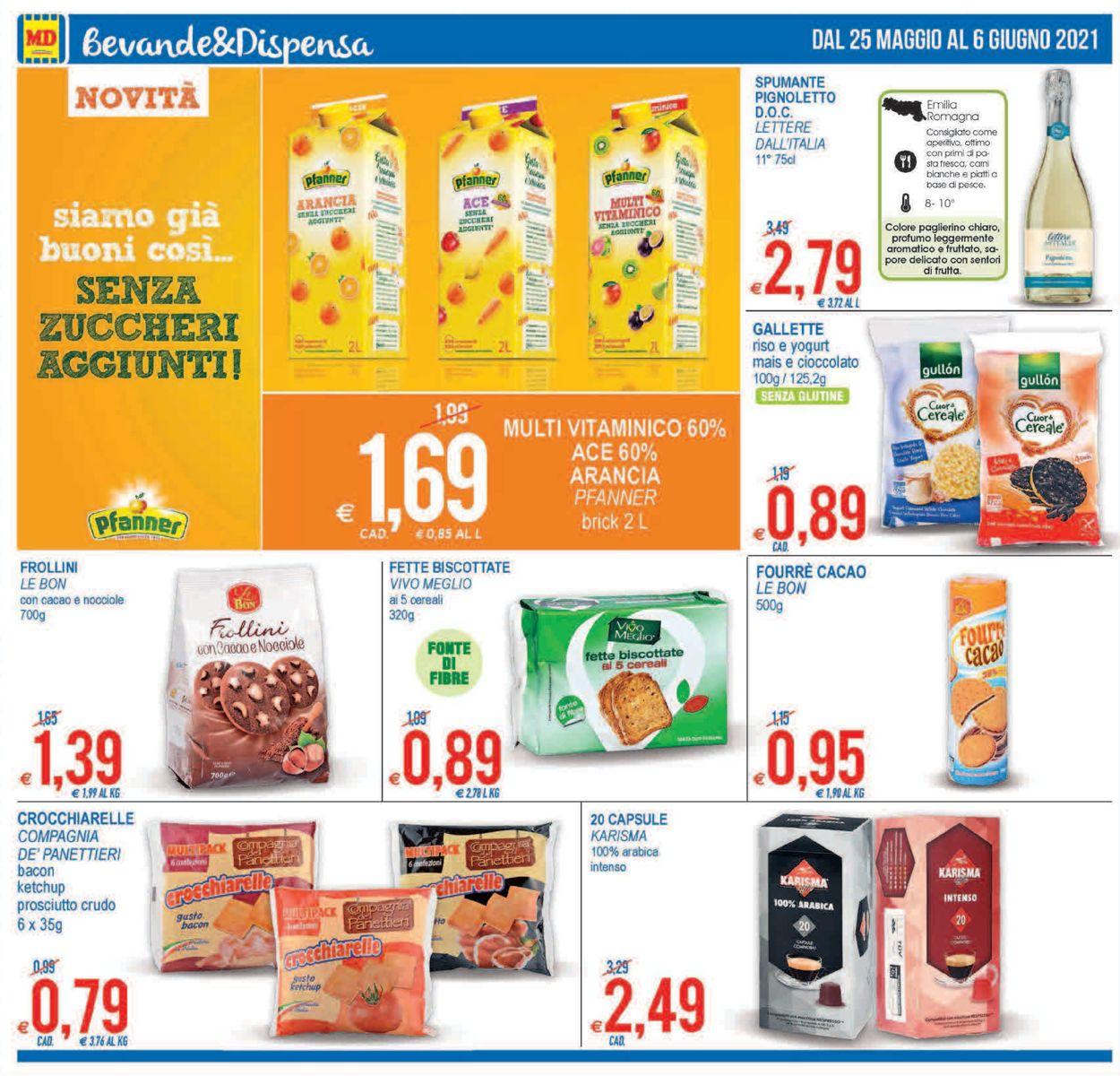 Volantino MD Discount - Offerte 25/05-06/06/2021 (Pagina 14)