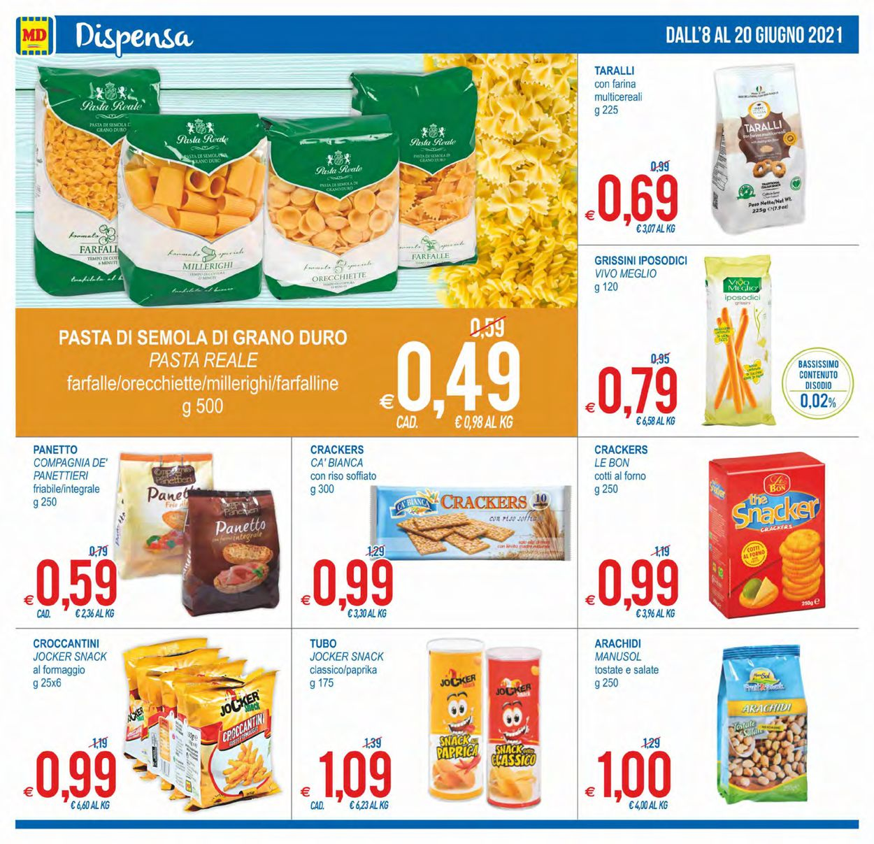 Volantino MD Discount - Offerte 08/06-20/06/2021 (Pagina 12)