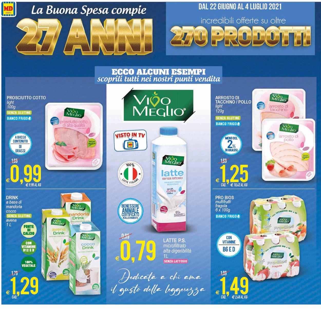 Volantino MD Discount - Offerte 22/06-04/07/2021 (Pagina 4)