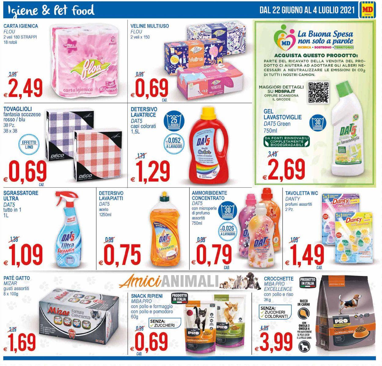 Volantino MD Discount - Offerte 22/06-04/07/2021 (Pagina 17)