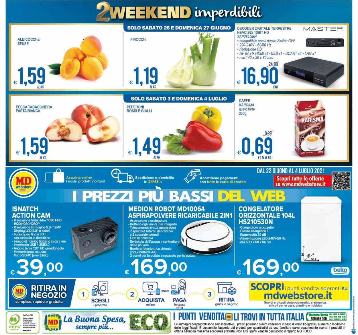 Volantino MD Discount - Offerte 22/06-04/07/2021 (Pagina 24)