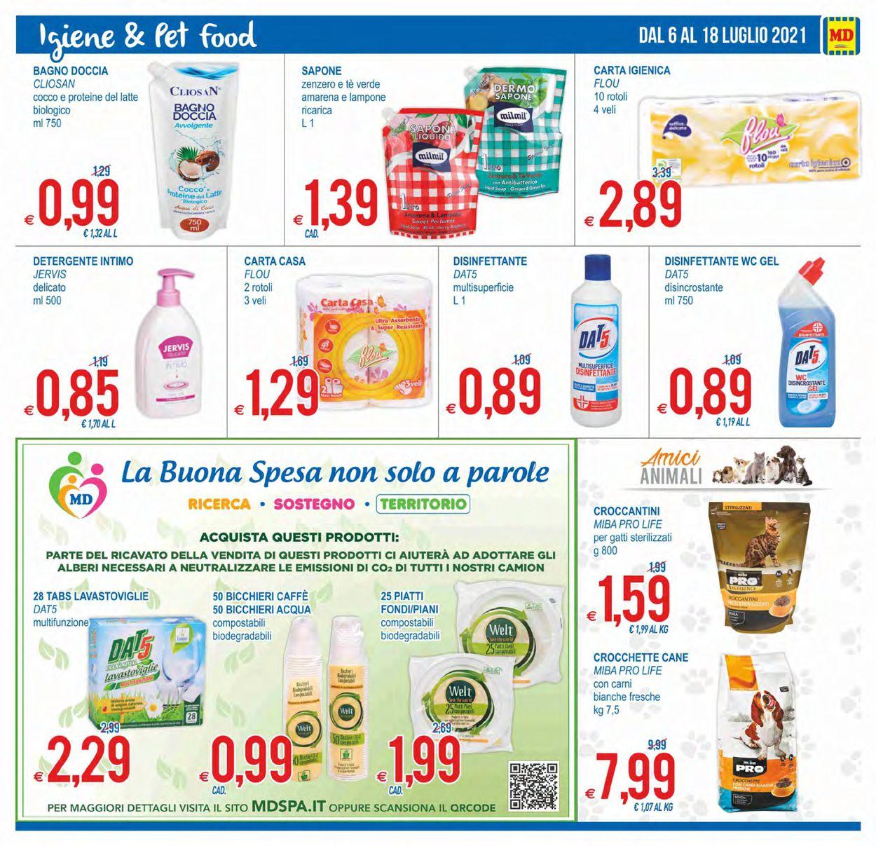 Volantino MD Discount - Offerte 06/07-18/07/2021 (Pagina 17)