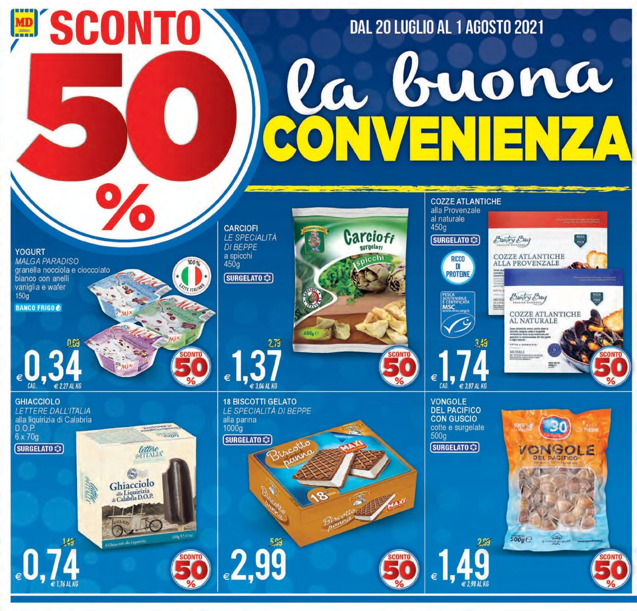Volantino MD Discount - Offerte 20/07-01/08/2021 (Pagina 2)