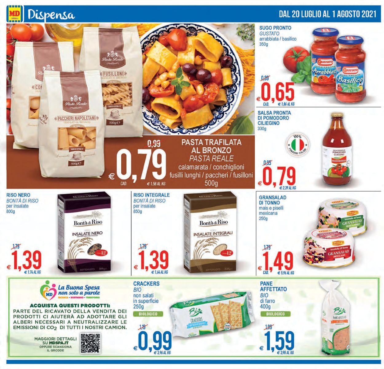 Volantino MD Discount - Offerte 20/07-01/08/2021 (Pagina 14)