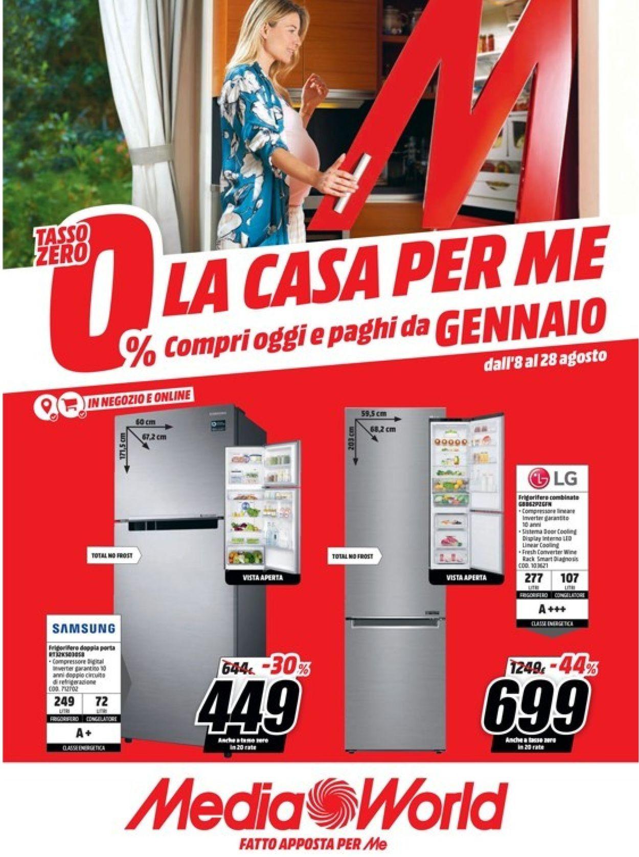Volantino Media World - Offerte 08/08-28/08/2019