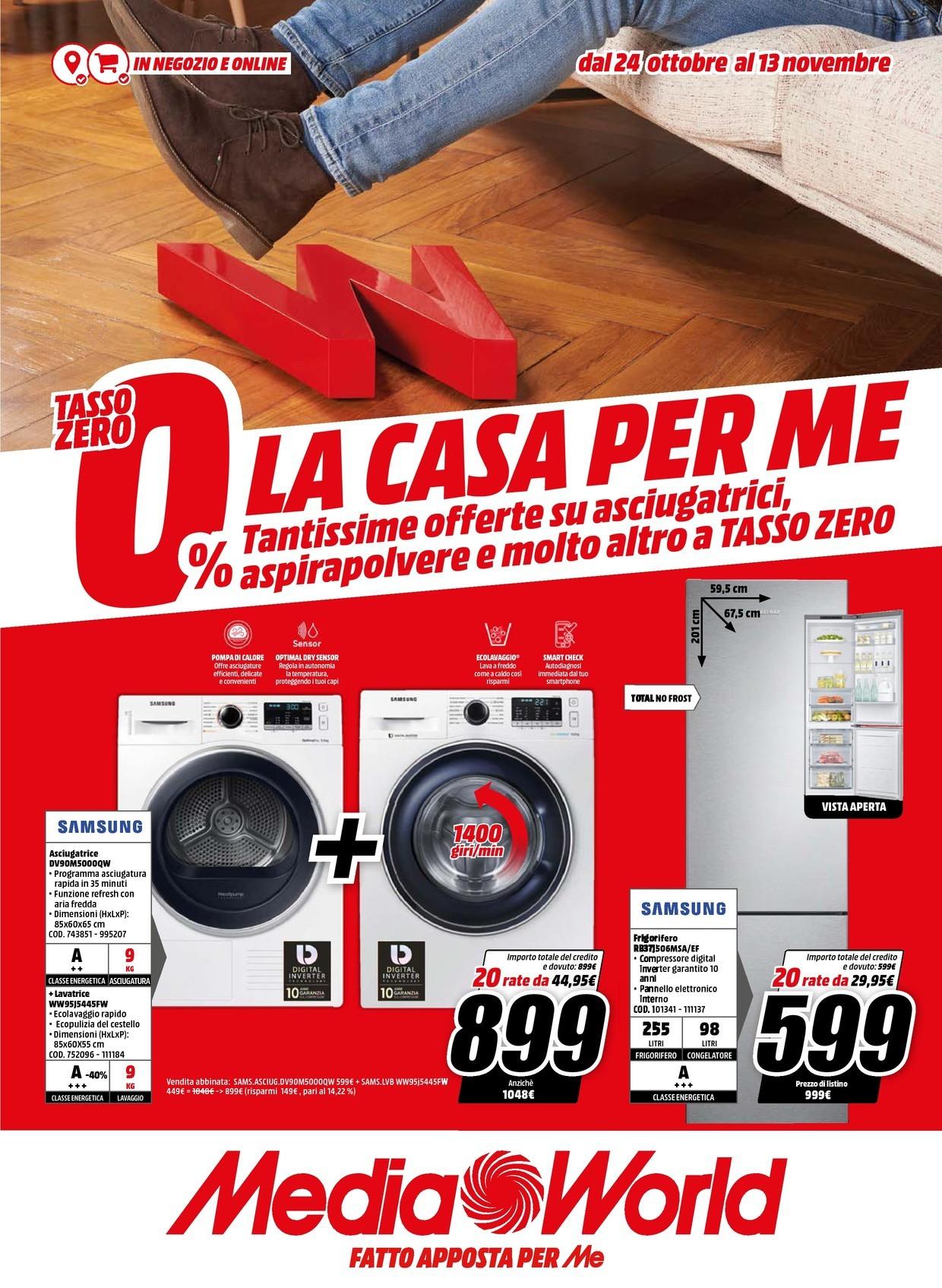 Volantino Media World - Offerte 24/10-13/11/2019