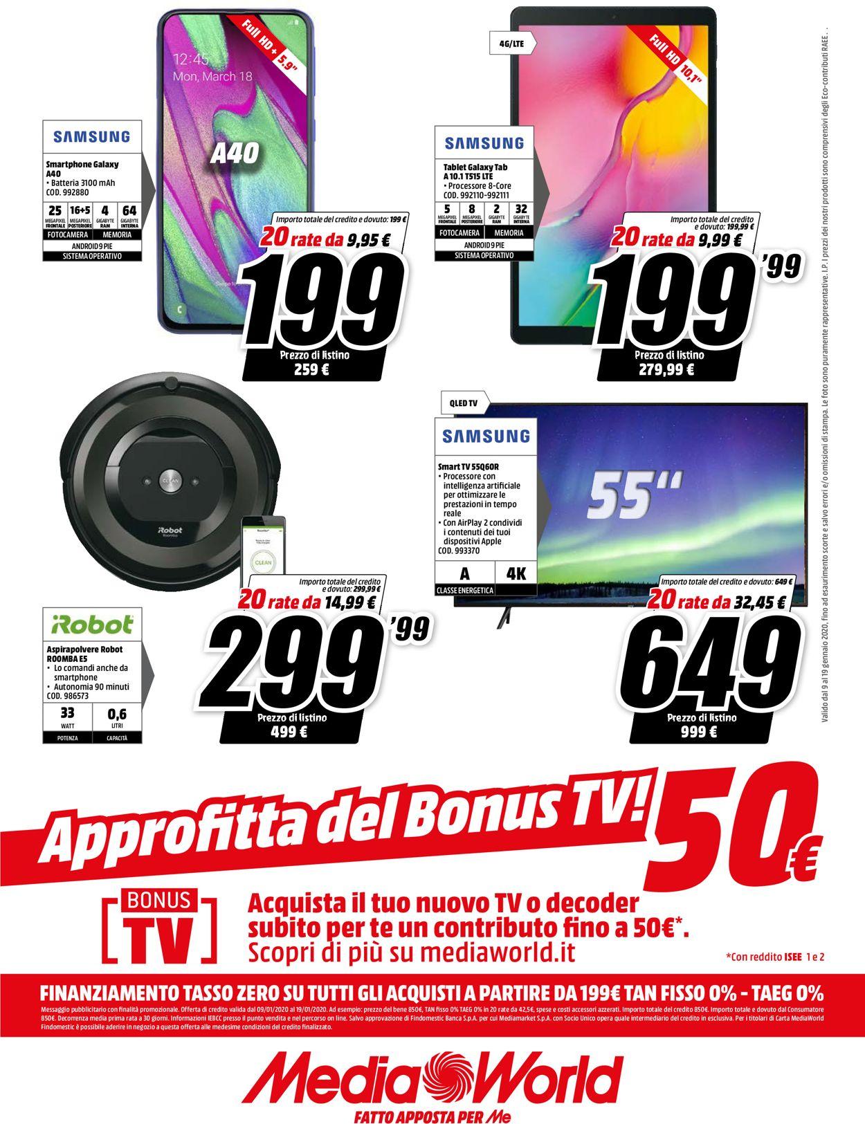 Volantino Media World - Offerte 09/01-19/01/2020 (Pagina 16)