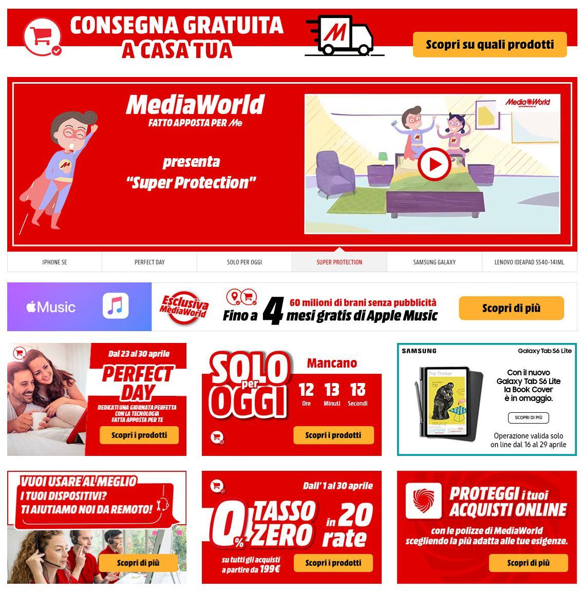 Volantino Media World - Offerte 24/04-05/05/2020