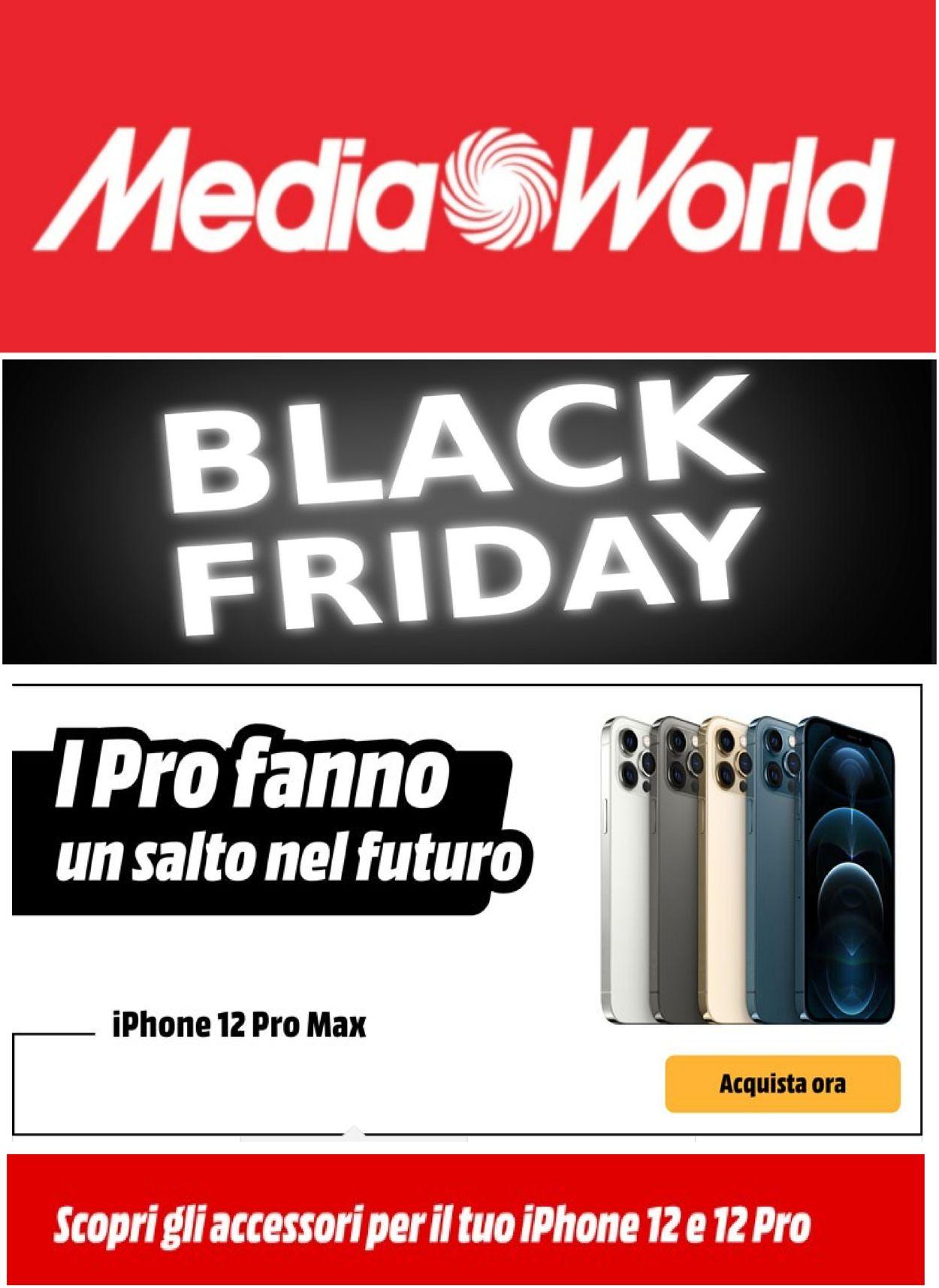 Volantino Media World - Black Friday 2020 - Offerte 19/11-25/11/2020