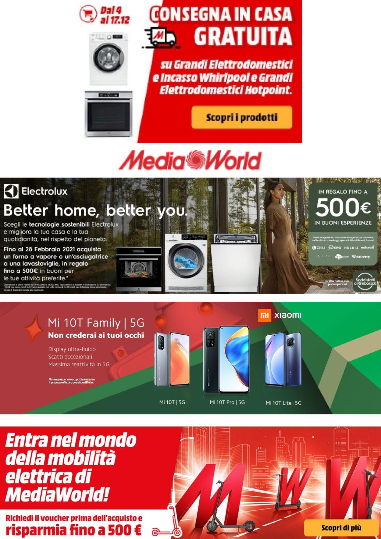 Volantino Media World - Offerte 05/01-17/01/2021