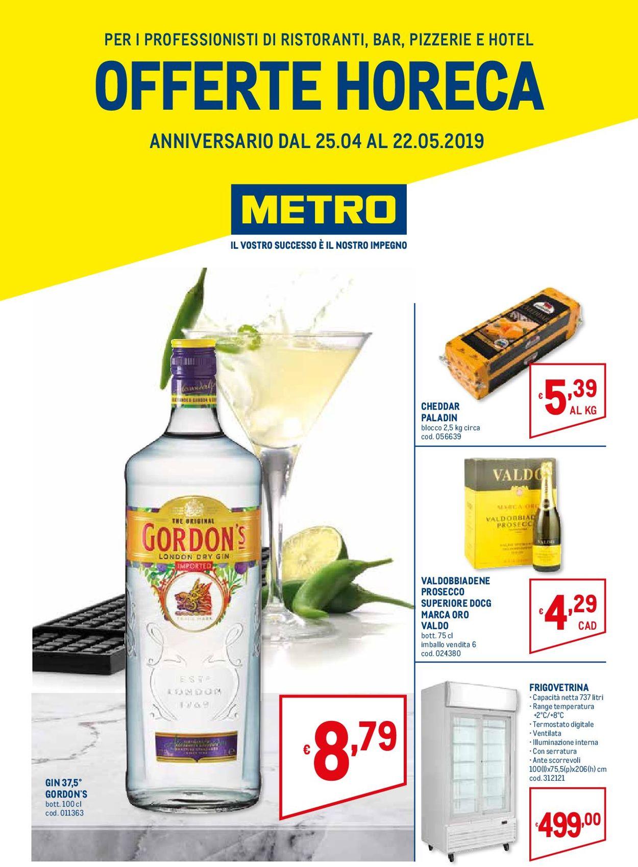 Volantino Metro - Offerte 25/04-22/05/2019