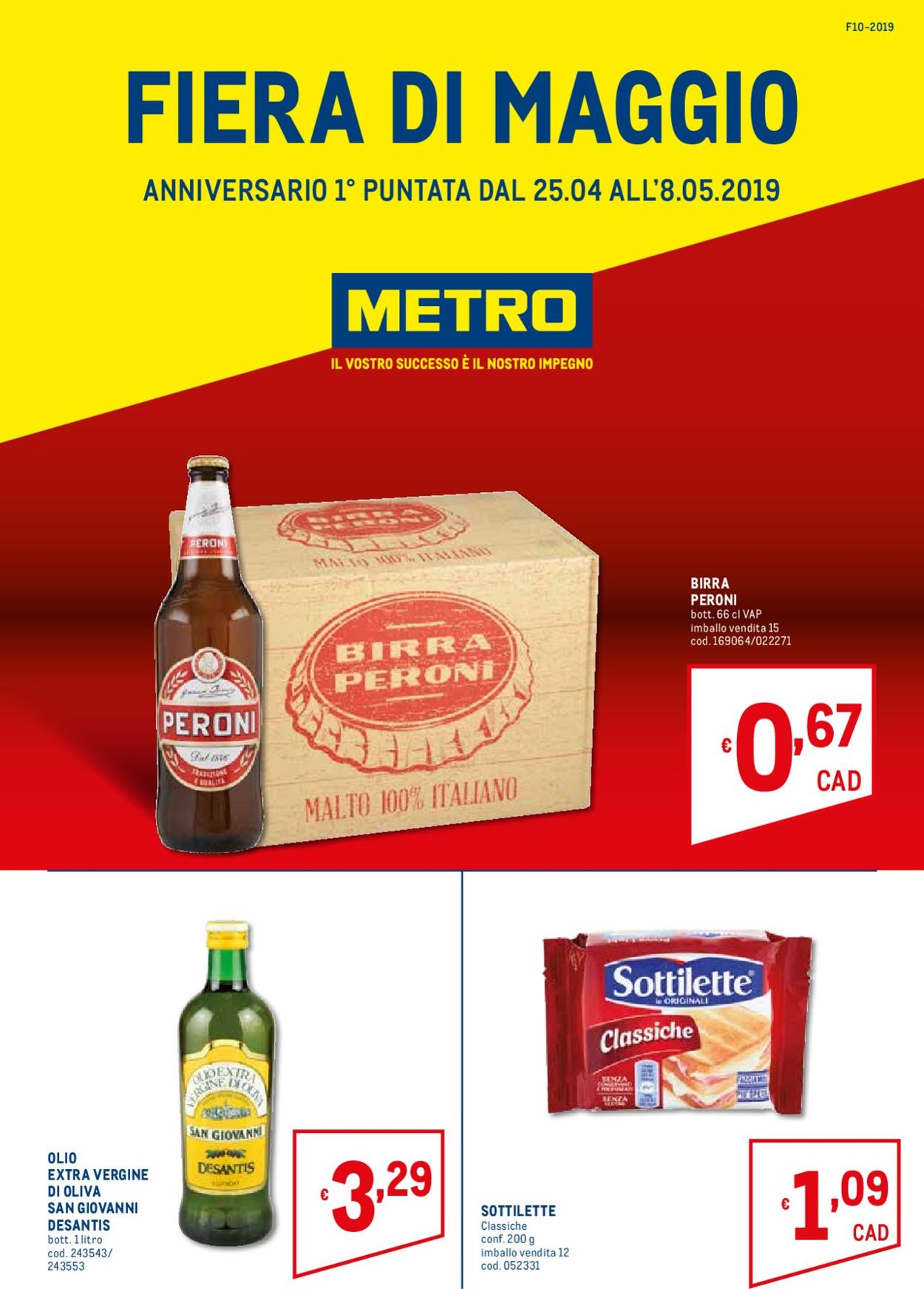Volantino Metro - Offerte 25/04-08/05/2019