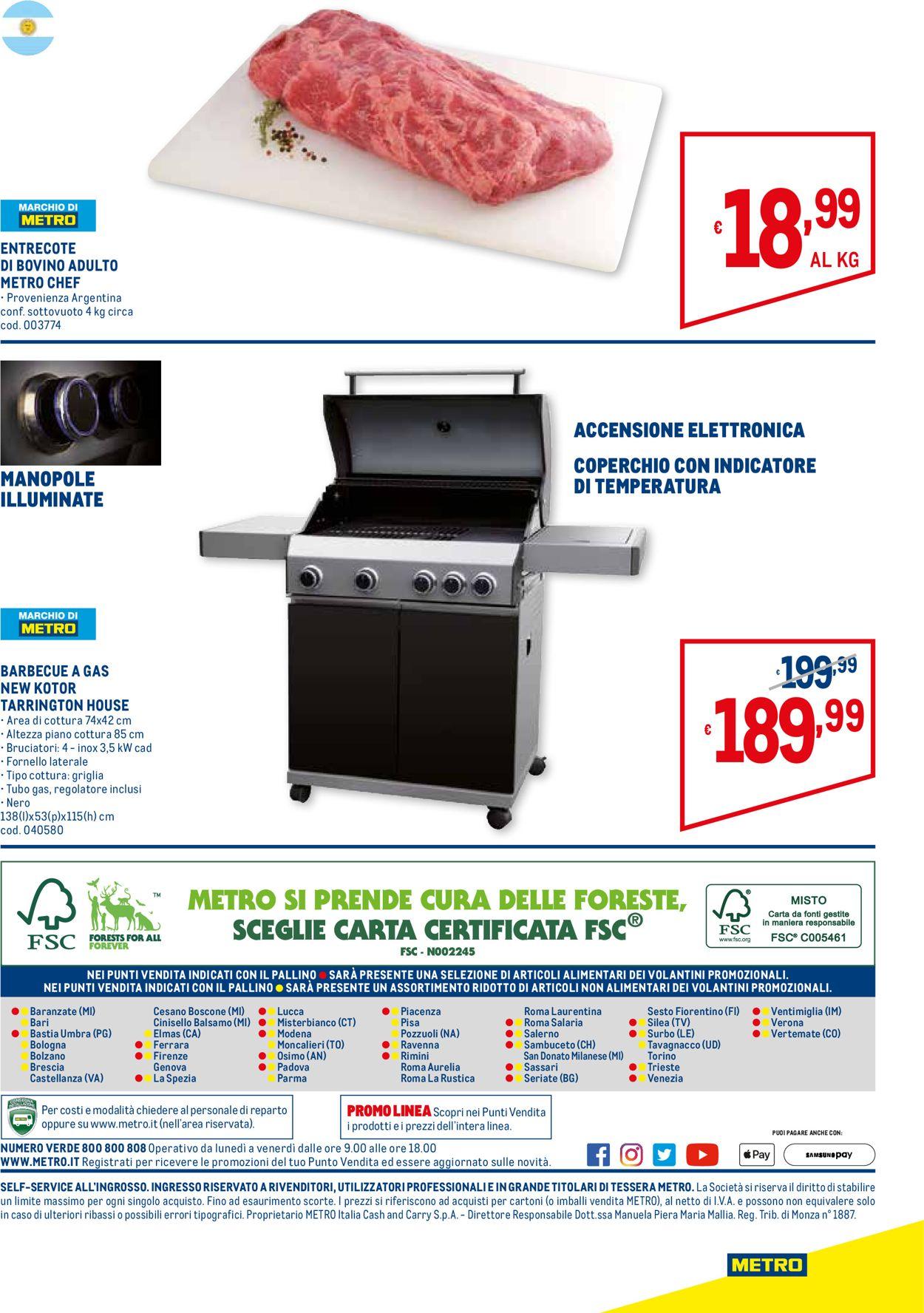 Volantino Metro - Offerte 11/04-08/05/2019 (Pagina 32)