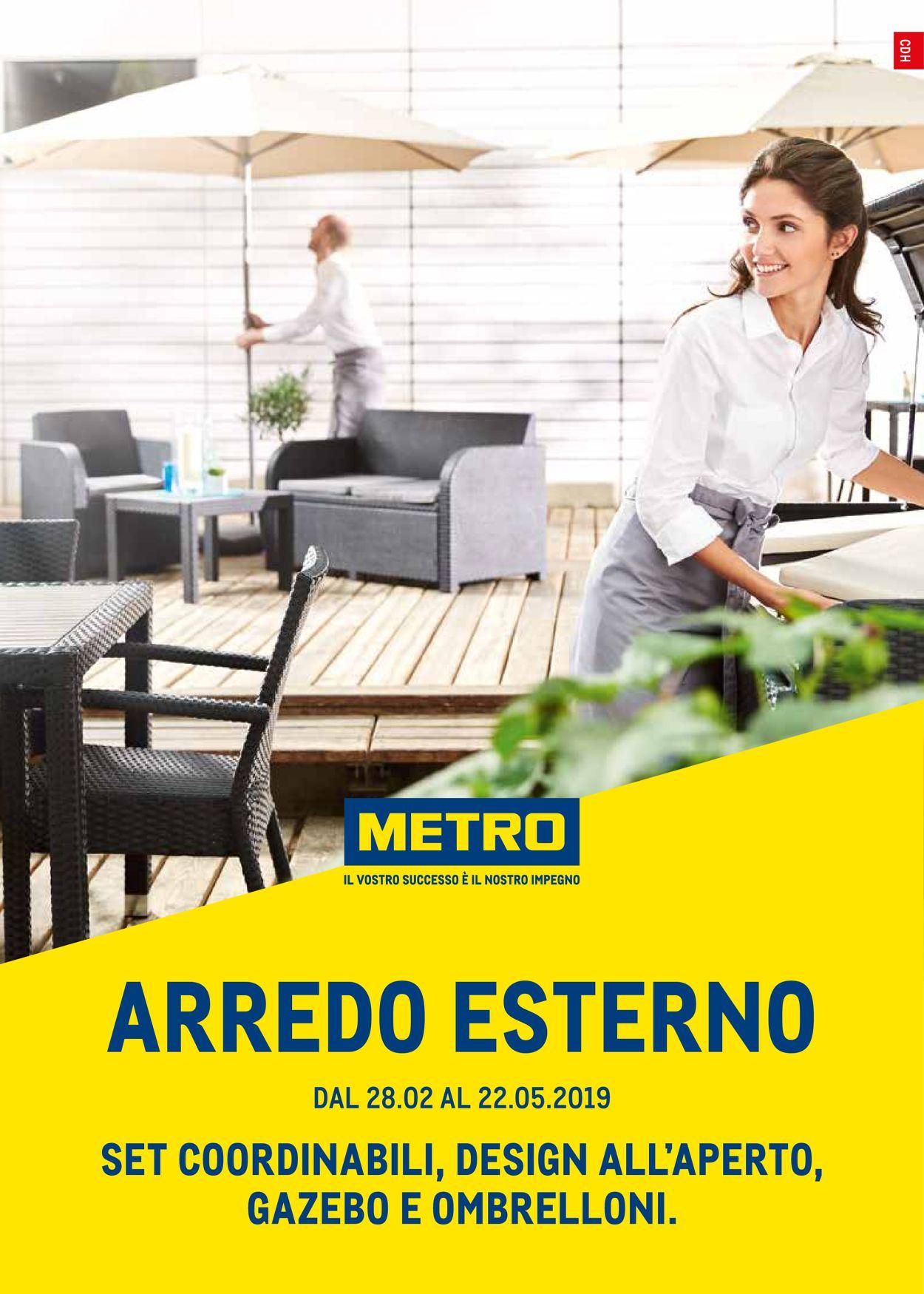 Volantino Metro - Offerte 28/02-22/05/2019