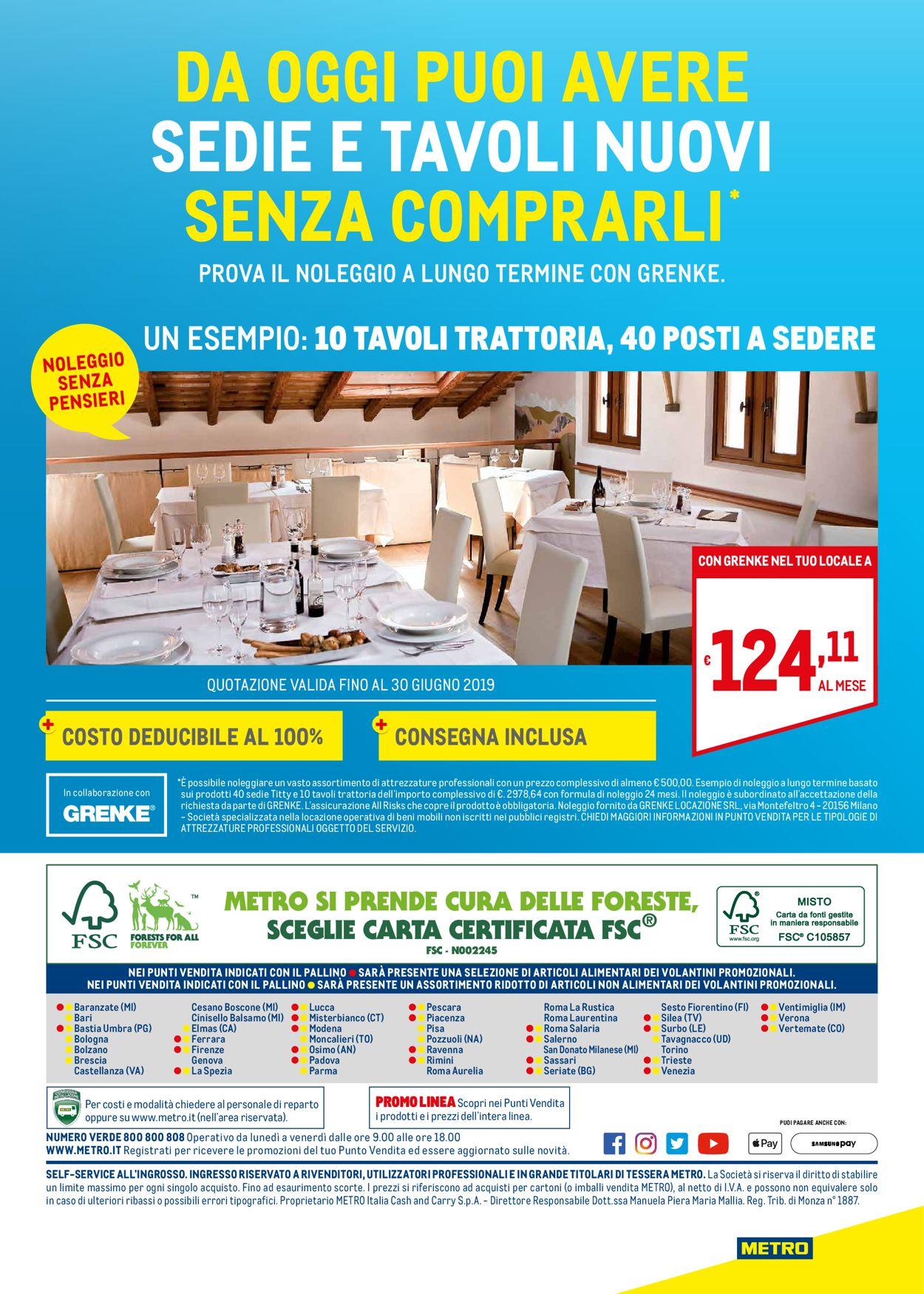 Volantino Metro - Offerte 14/03-31/12/2019 (Pagina 32)