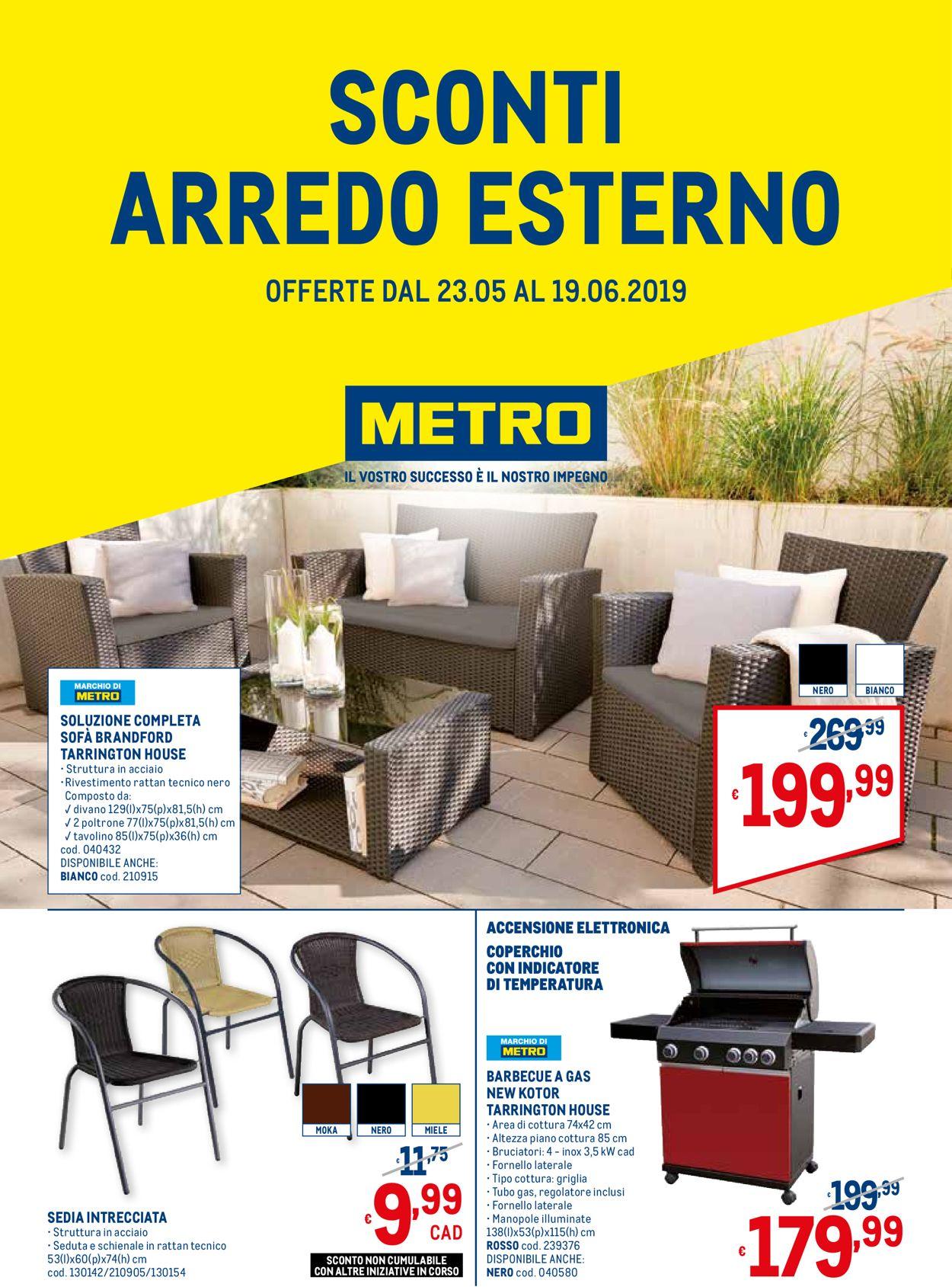 Volantino Metro - Offerte 23/05-19/06/2019