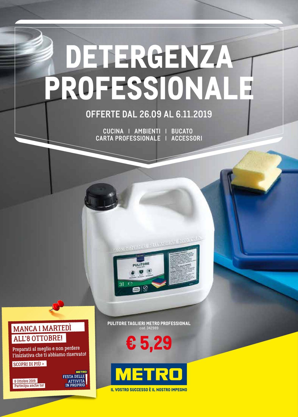 Volantino Metro - Offerte 26/09-06/11/2019