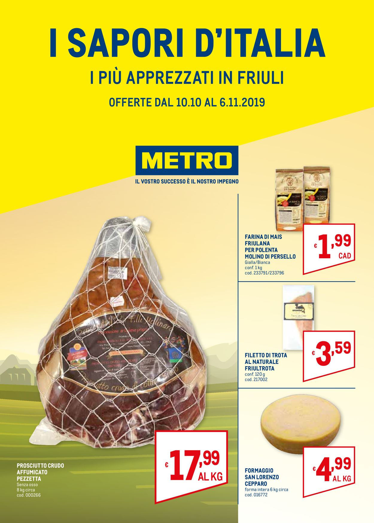 Volantino Metro - Offerte 10/10-06/11/2019