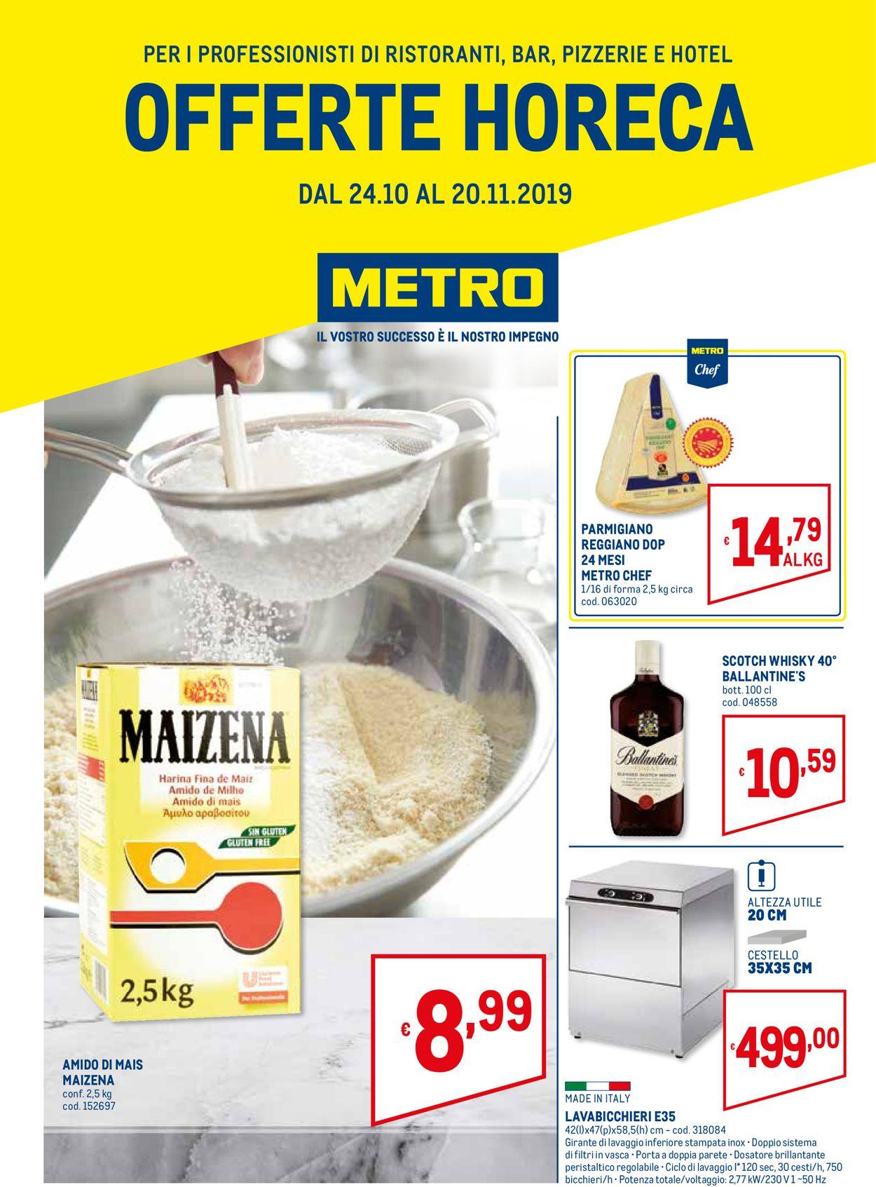 Volantino Metro - Offerte 24/10-20/11/2019