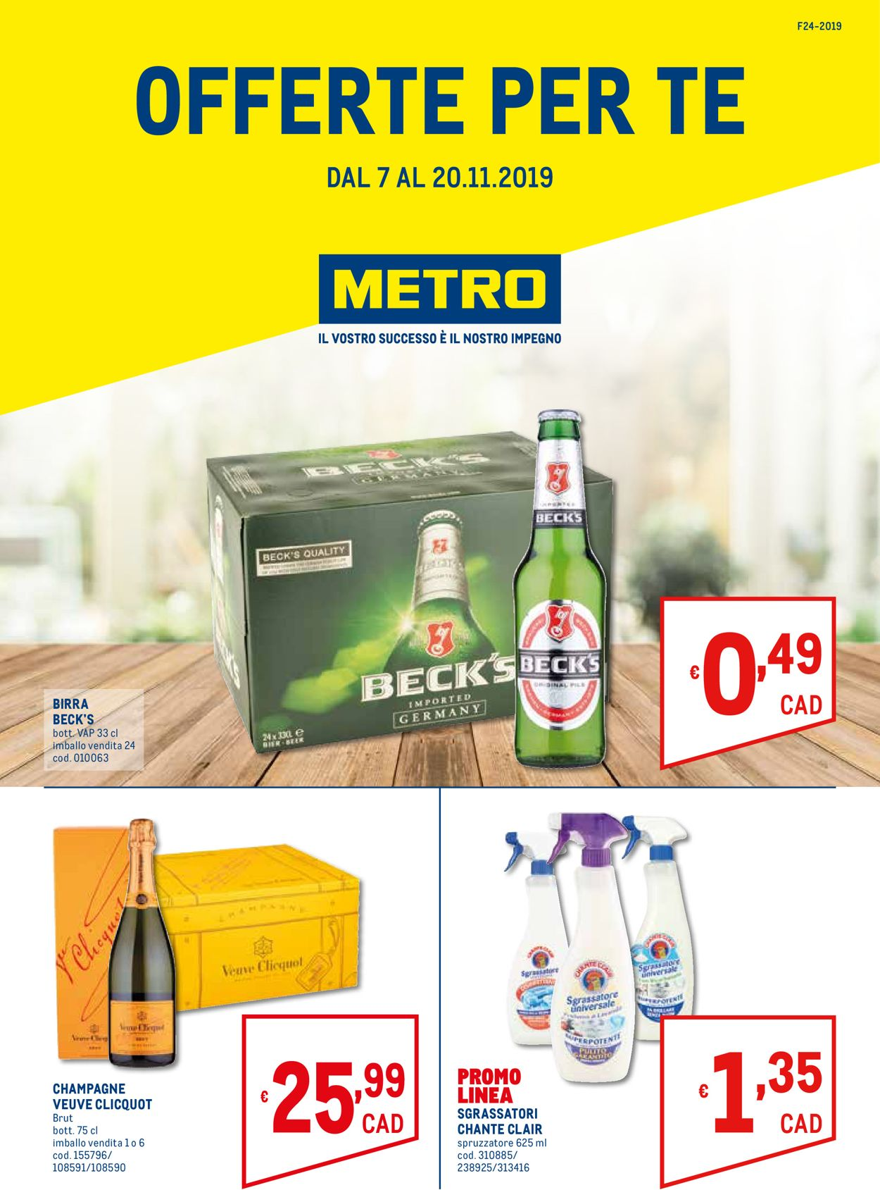 Volantino Metro - Offerte 07/11-20/11/2019