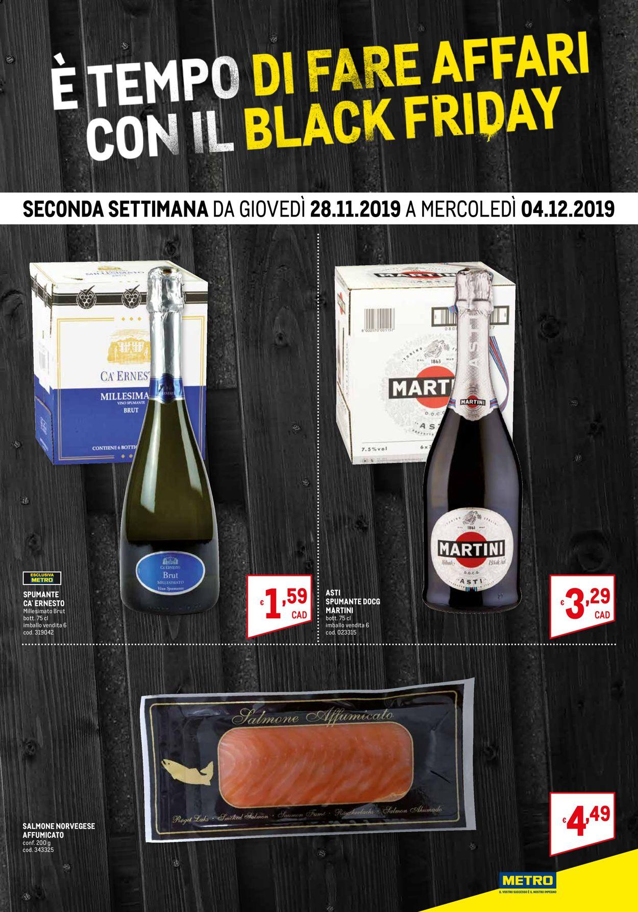 Volantino Metro BLACK FRIDAY 2019 - Offerte 20/11-04/12/2019 (Pagina 2)