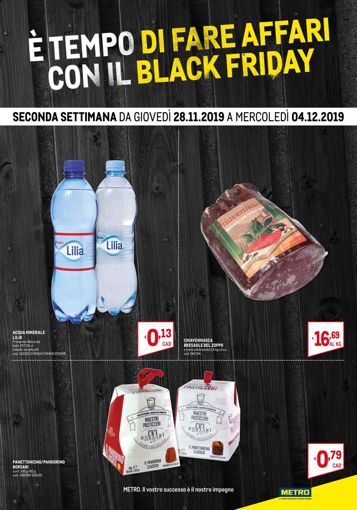Volantino Metro BLACK FRIDAY 2019 - Offerte 20/11-04/12/2019 (Pagina 3)