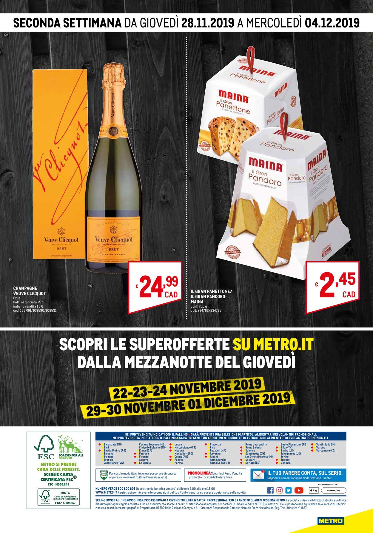 Volantino Metro BLACK FRIDAY 2019 - Offerte 20/11-04/12/2019 (Pagina 4)