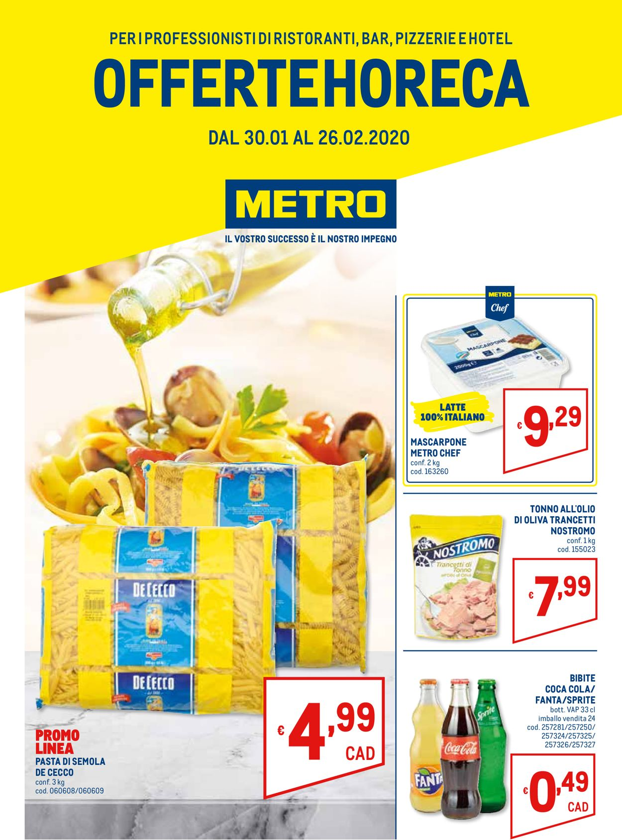Volantino Metro - Offerte 30/01-26/02/2020