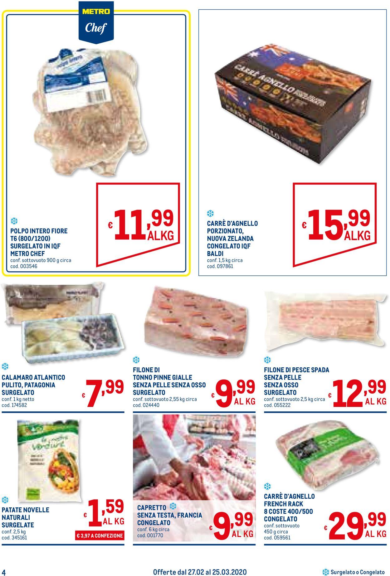 Volantino Metro - Offerte 27/02-25/03/2020 (Pagina 4)