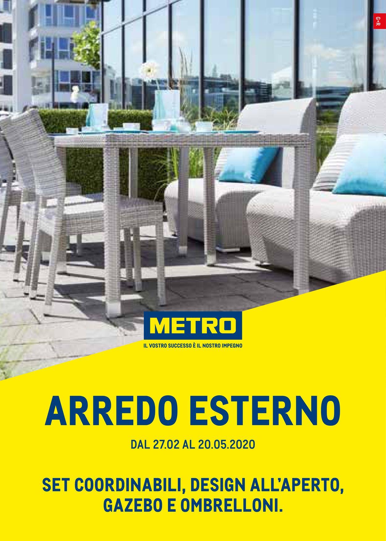 Volantino Metro - Offerte 27/02-20/05/2020