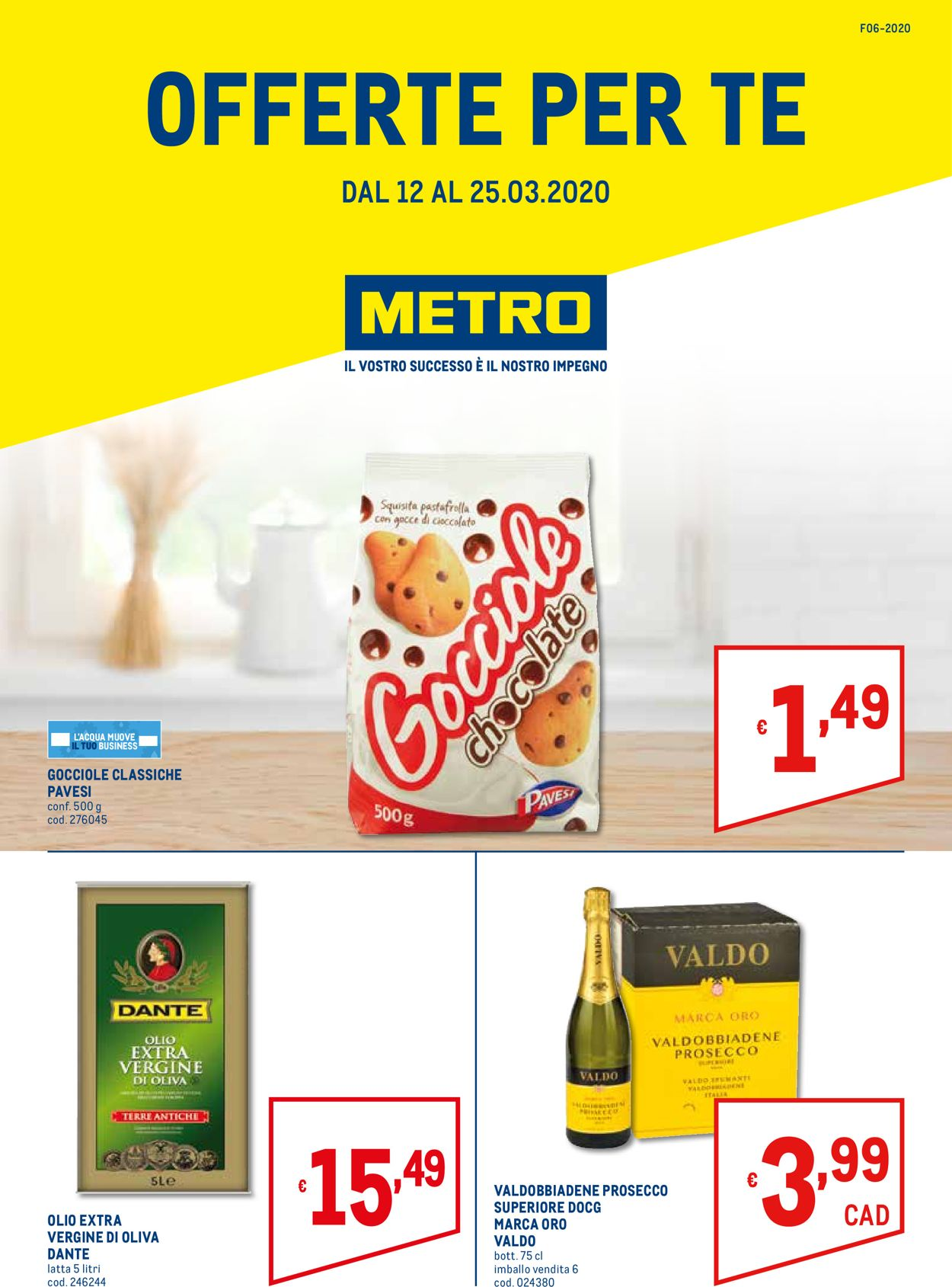 Volantino Metro - Offerte 12/03-25/03/2020