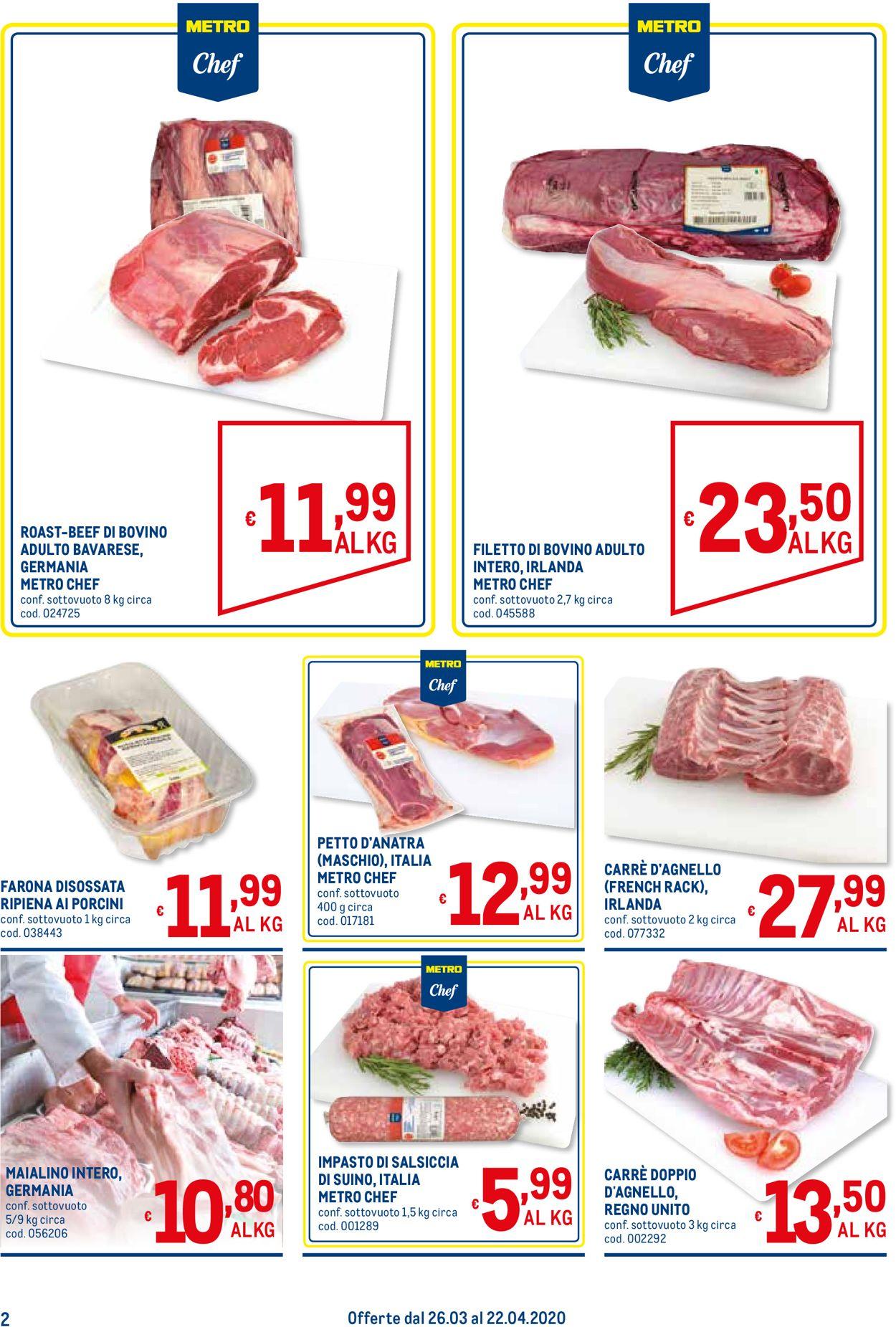 Volantino Metro - Offerte 26/03-22/04/2020 (Pagina 2)
